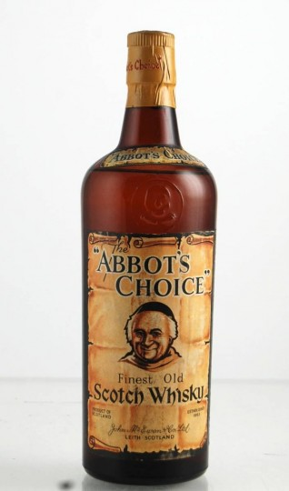 ABBOT'S CHOICE  Bot.60's 75cl   40% - Blended