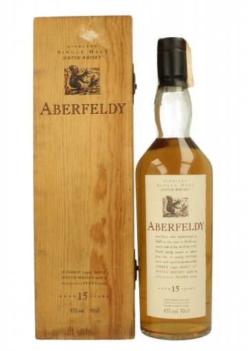 ABERFELDY Bot.90's 70cl 43% OB - Flora and Fauna