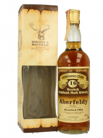 ABERFELDY 16yo 1966 75cl 40% Gordon MacPhail Connoiseur Choice
