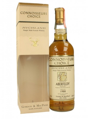 ABERFELDY 1988 2003 70cl 43% Gordon MacPhail Connoiseur Choice