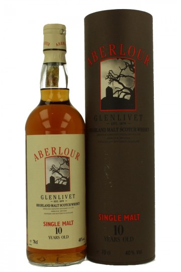ABERLOUR 10 years old Bot in The 90's 70cl 40%