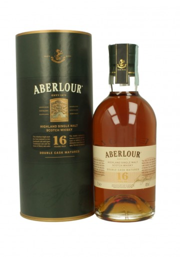 ABERLOUR 16yo 70cl 40% - Double cask matured