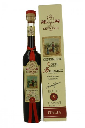 ACETO BALSAMIC VINEGAR Pregiato 5 TRAVASI 10cl LEONARDI 1 Travasi mean 1 years old