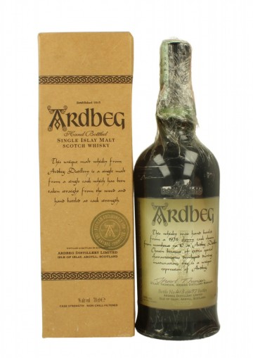 ARDBEG  1976  1999 70 CL 56% SHERRY BUTT ONE OF 497