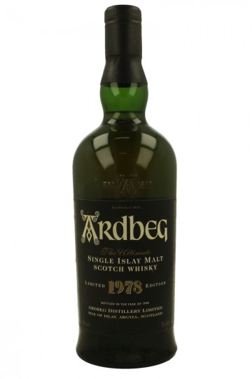 ARDBEG 1978 1998 70cl 43% NO Box