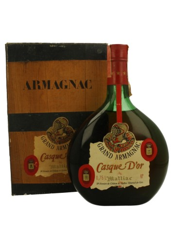 ARMAGNAC  MALLIAC  bot 60/70's  75cl 40% CASQUE D'OR