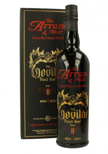 ARRAN Devil Puch Bowl 2 Bot.2013 70cl 53.1 % OB