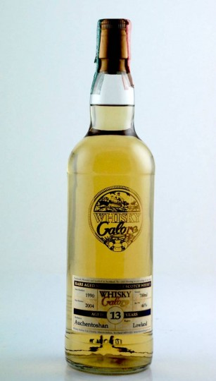 AUCHENTOSHAN 13yo 1990 2004 70cl 46% Whisky Galore