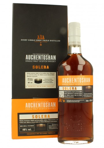 AUCHENTOSHAN Solera         70cl 48% OB -  finished in PX Sherry