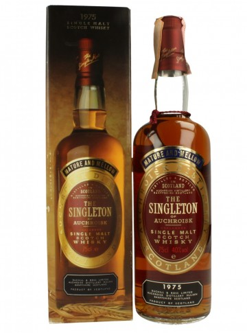 AUCHROISK The Singleton 1975 75cl 40% OB -  The Singleton