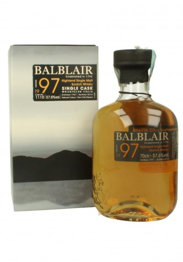 BALBLAIR 1997 2015 70cl 57.6% OB - for Club Italia #1110