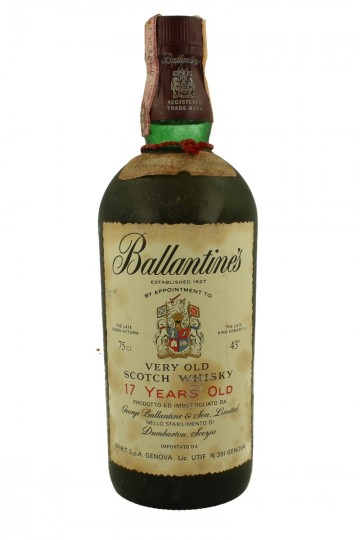 BALLANTINE'S 17yo 1976 75cl 43% - Blended