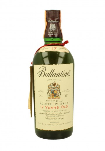 BALLANTINE'S 17yo Bot.1974 75cl 43% - Blended