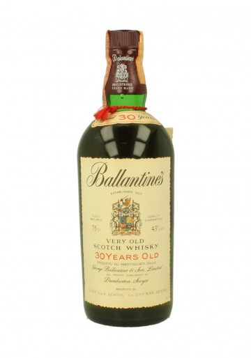 BALLANTINE'S 30yo Bot.1980 75cl 43% - Blended