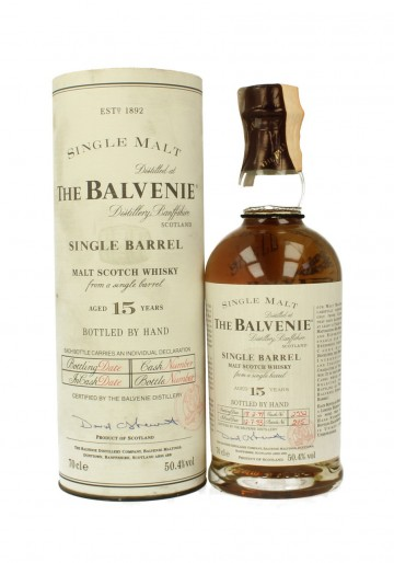 BALVENIE 15yo 1983 1999 70cl 50.4% OB - Single Barrel #2532