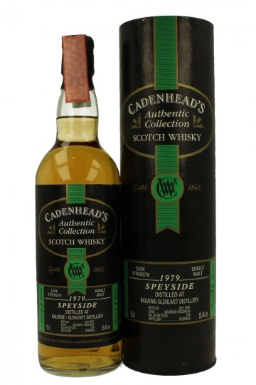 BALVENIE 22yo 1979 2001 70cl 55.4% Cadenhead's -Authentic Collection