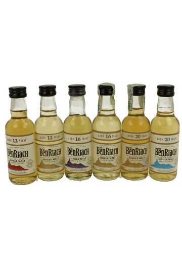 BENRIACH 11x 5cl 11 RARE MINIATURES