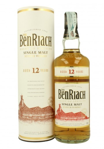 BENRIACH 12yo 70cl 43% OB