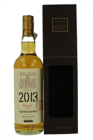BENRIACH 2013 2021 70cl 46% Wilson & Morgan Sherry finish