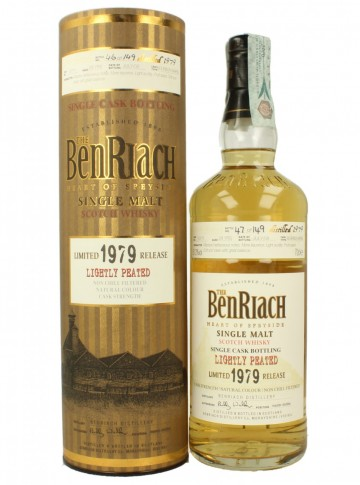 BENRIACH 1979 2008 51.2% OB - Lightly Peated #10771