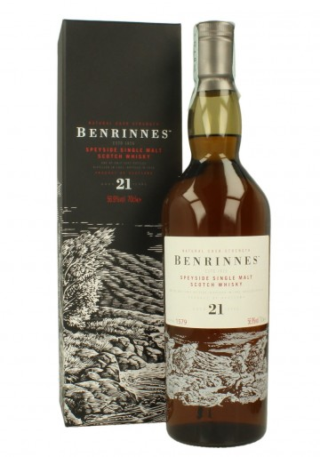 BENRINNES 21yo 1992 2014 70cl 56.9% OB - Special Release 2014