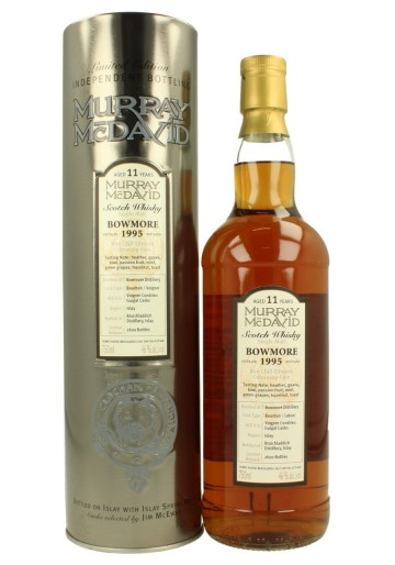 BOWMORE 11yo 1995 70cl 46% Murray McDavid