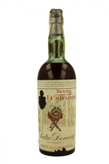 BRANDY FUNDADOR cork Cap 75cl 40% PEDRO DOMECQ