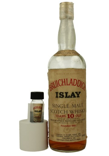 BRUICHLADDICH 10yo 1965 2cl 95 proof SAMAROLI Very rare sample 2 cl