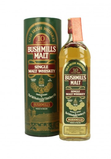 BUSHMILLS 10yo Bot.90's 70cl 40% - Single Malt