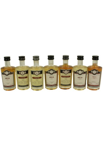 CAOL ILA  plus  craggamore   miniature 7 x 5cl  Malts of Scotland