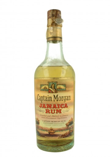 CAPTAIN MORGAN Bot.50's 75cl 43% - Rum