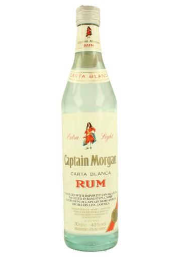 CAPTAIN MORGAN Bot.90's 70cl 40% Carta Blanca