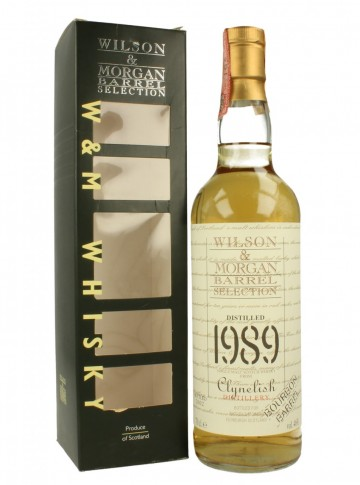 CLYNELISH 1989 2002 70cl   46% Wilson & Morgan