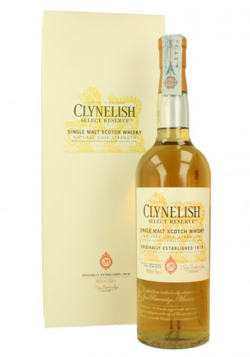CLYNELISH Select Reserve Bot.2015 54.9% OB - Special Release 2015