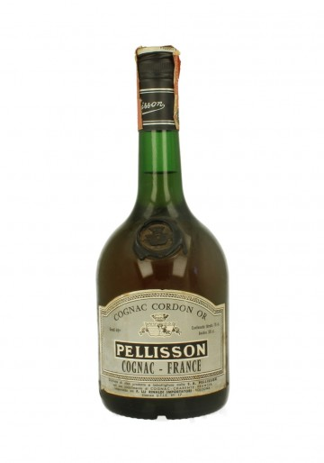 COGNAC PELLISSON CORDON OR  75 CL 40 % BOTTLED IN THE 70'S