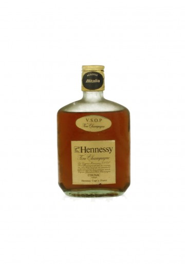 CONGAC HENNESSY VSOP 35 CL 40 % OLD BOTTLE ALITALIA EDITION