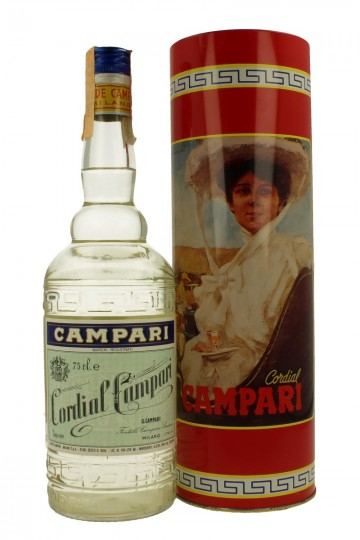CORDIAL CAMPARI BOTTLED IN THE  80'S 75cl 36%
