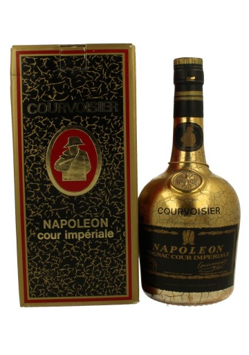 COURVOISIER COUR IMPERIAL 70cl 40% Bottle propriety of private collector for sale