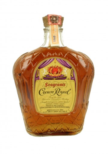 CROWN ROYAL Bot.1968 75cl 40 % Seagram