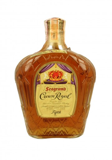 CROWN ROYAL FINE DE LUXE  1962 75 CL 80 PROOF