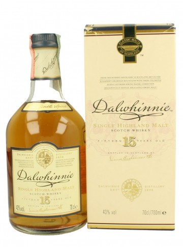 DALWHINNIE 15yo 70cl 43% OB