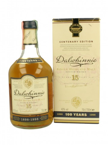 DALWHINNIE Bot.1998 70cl 43% OB - Centenary 1898-1998