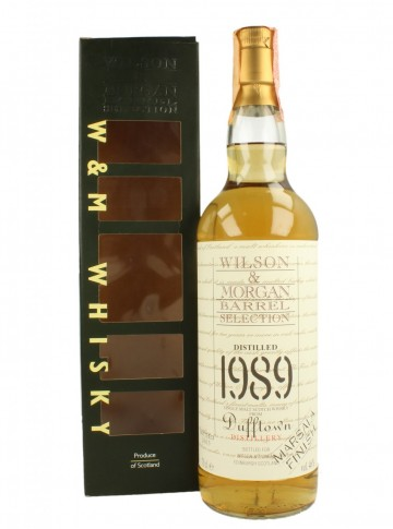 DUFFTOWN  1989 2003 70cl  46% Wilson & Morgan - Marsala finish
