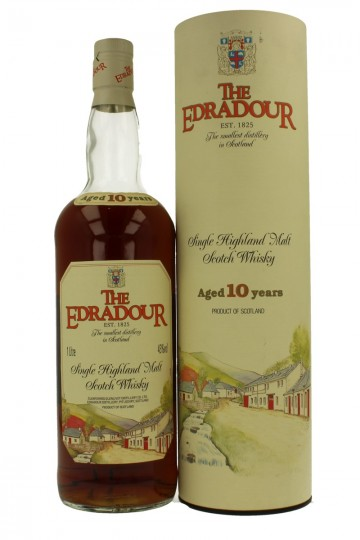 EDRADOUR 10 years old 90's Bot in The 90's 100CL 43%