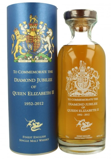 English Whisky Daimond Jubilee Bot.2012 70cl 46% OB - St. George