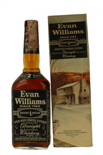 EVAN WILLIAMS 7 years old - Bot.70's 75cl 90 US Proof