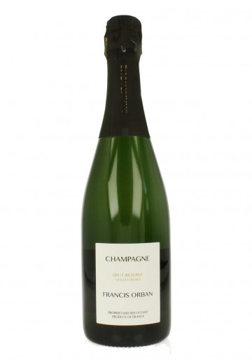 FRENCIS ORBAN Champagne 75cl 12% Brut Reserve