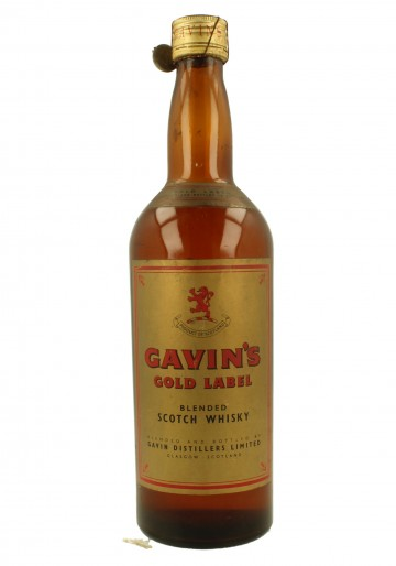 GAVIN'S Gold Label Bot.50/60's 75cl  43% - Blended