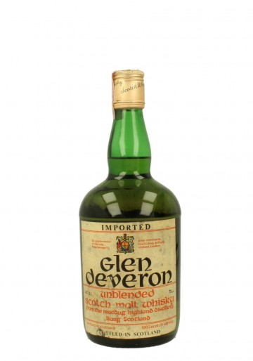 GLEN DEVERON Unblended Bot.50/60's 43% OB