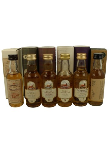 GLEN GARIOCH 14x 5cl 14 VERY RARE MINIATURES